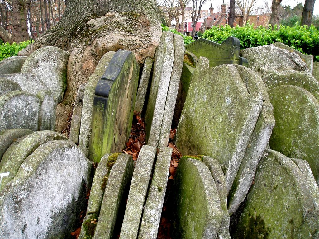 Gravestones at St Pancras Old Church - Unusual Things To Do in King's Cross