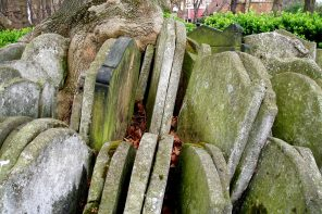 Gravestones at St Pancras Old Church