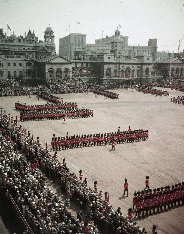 Trooping the Colour 1956