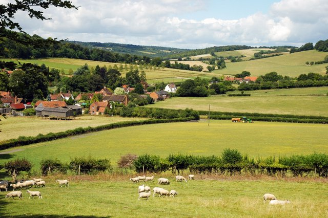 Fingest Valley, The Chilterns