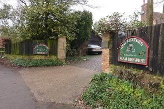 Chiltern Valley Winery and Brewery entrance