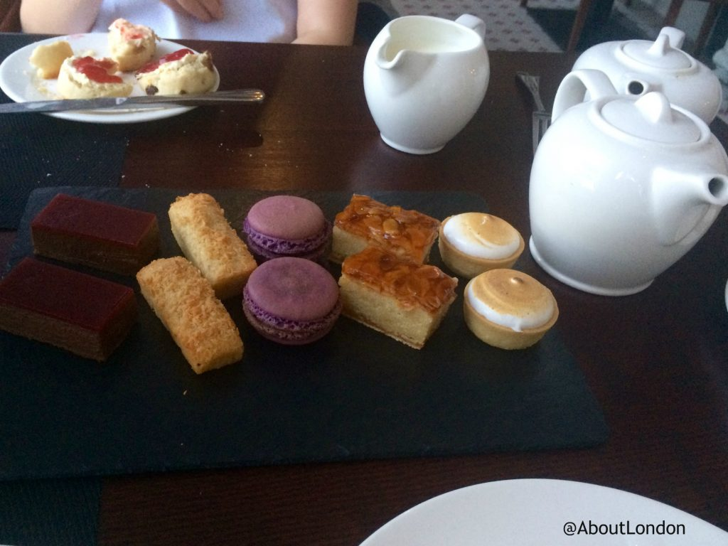 Danesfield House Hotel afternoon tea