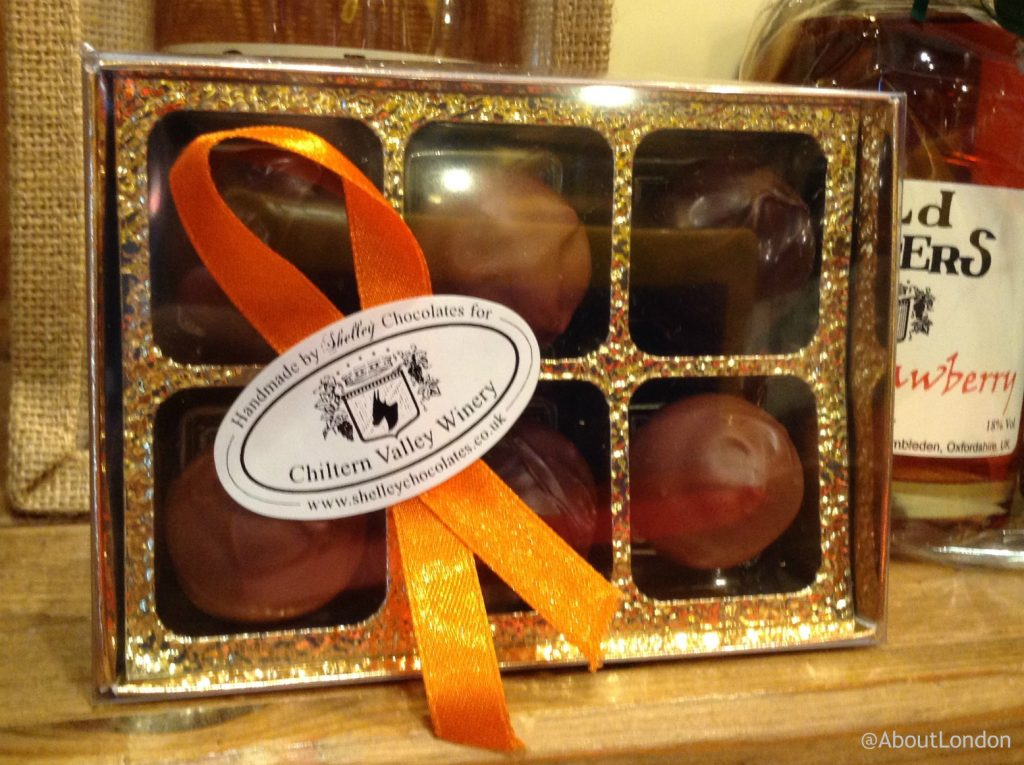 Chiltern Valley Winery and Brewery Cellar Shop chocolates