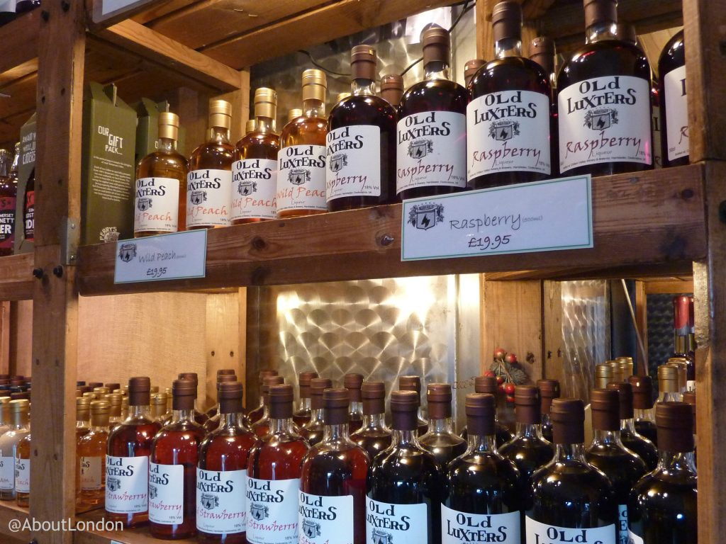 Chiltern Valley Winery and Brewery Cellar Shop - liqueurs