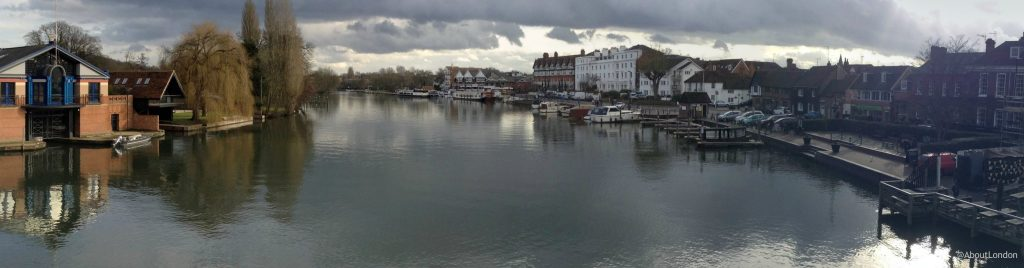 View from Henley Bridge