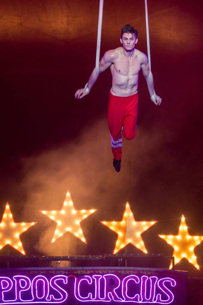Zippos Circus - Laci Fossett