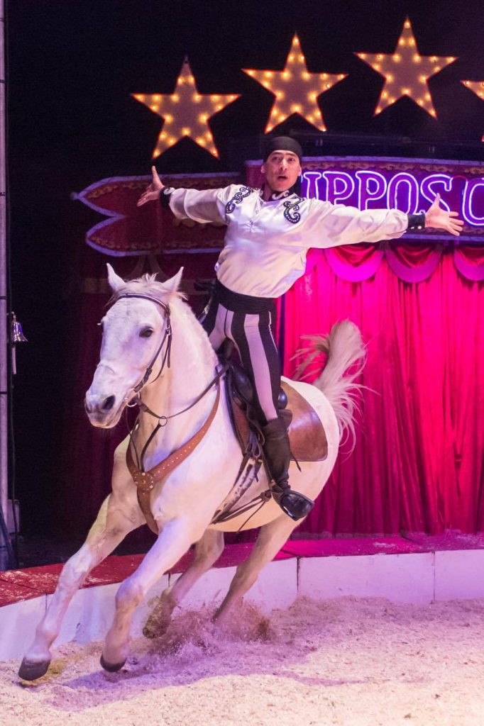 Zippos Circus - Khadikov Troupe Cossack riders