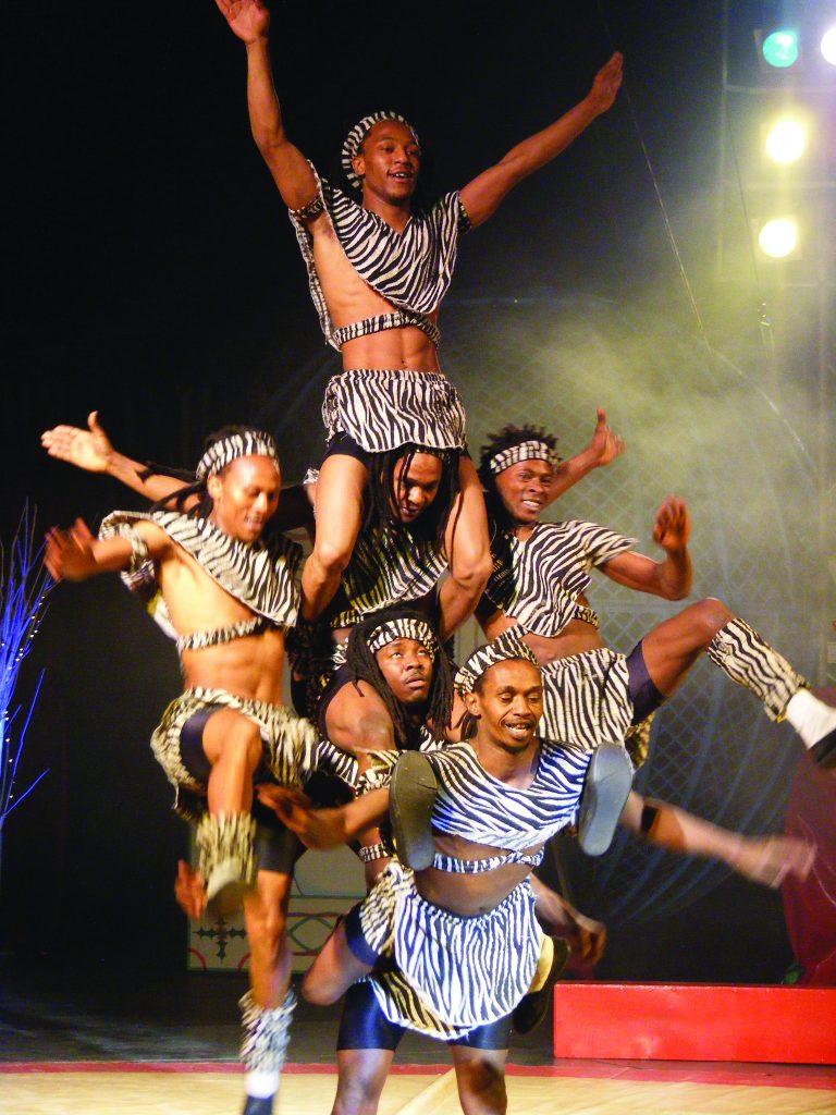 Timbuktu Tumblers - Zippos Circus