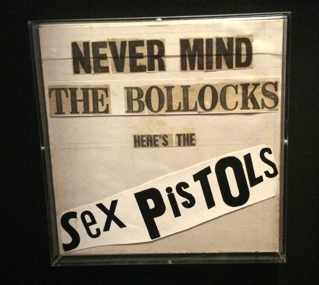 Never Mind The Bollocks Here's The Sex Pistols - original artwork