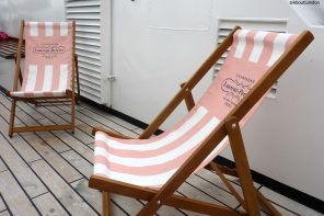 Laurent Perrier Champagne Lunch Cruise - deckchairs