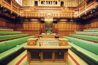 House of Commons Chamber, UK Houses of Parliament