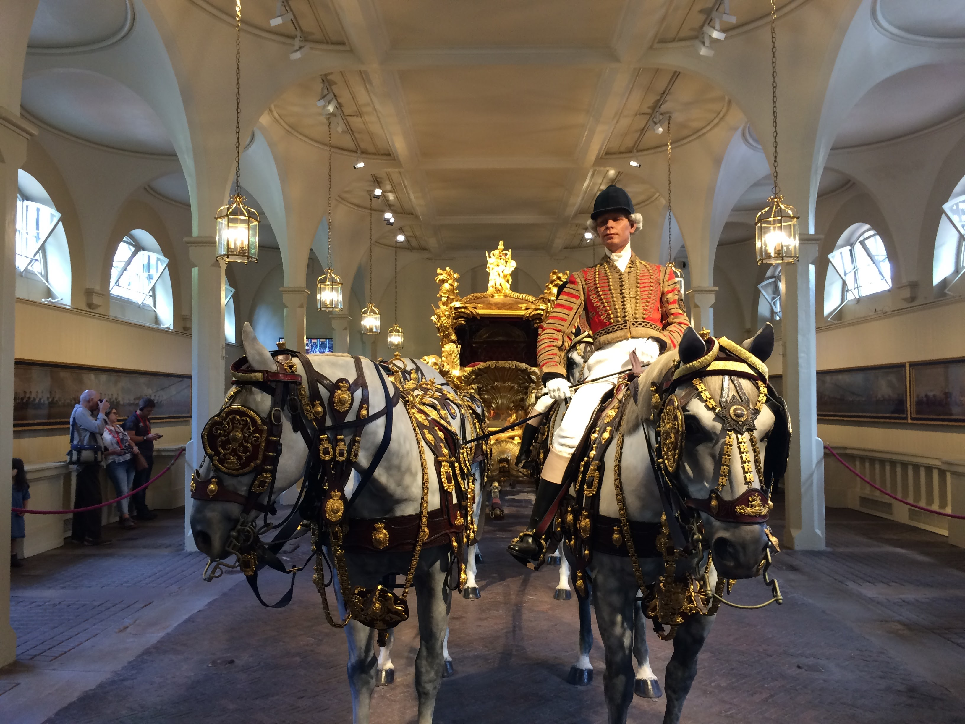 The Gold State Coach - The Royal Mews