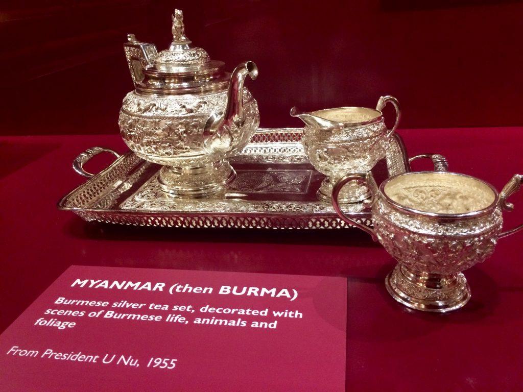 Royal Gifts at Buckingham Palace - Myanmar