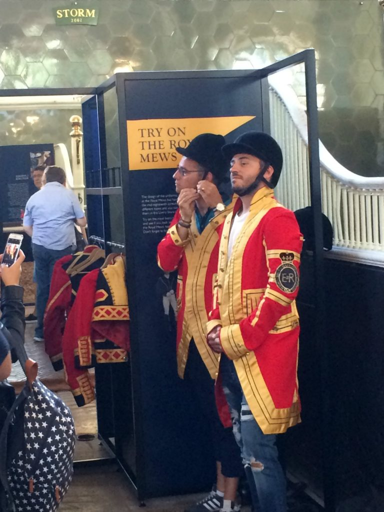 Dress up as a Footman - The Royal Mews