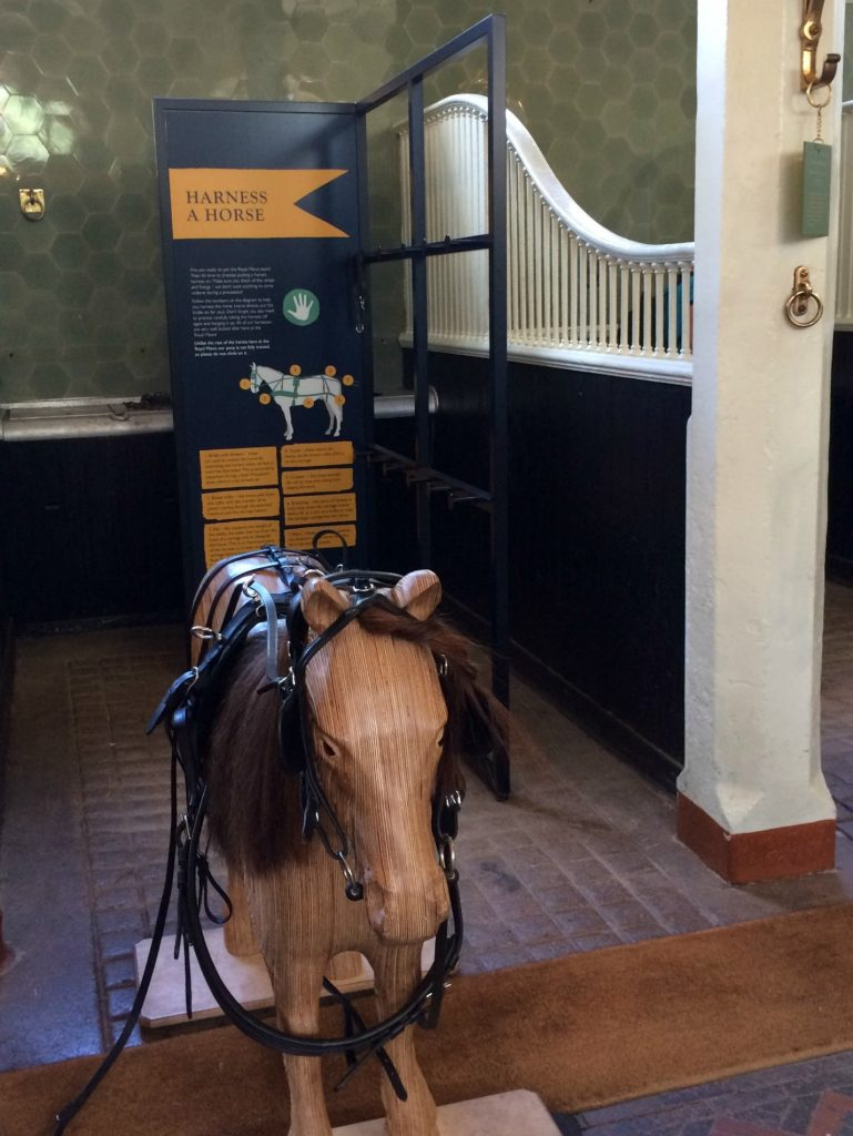 Harness a wooden horse - The Royal Mews