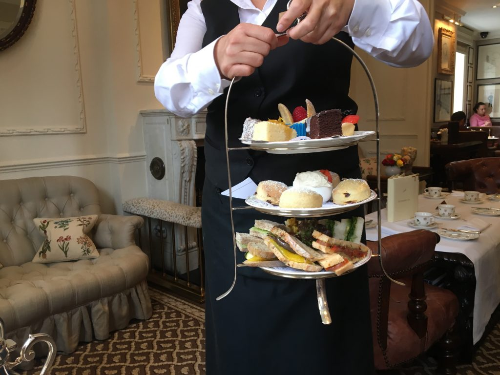 Egerton House Hotel Vegan Afternoon Tea