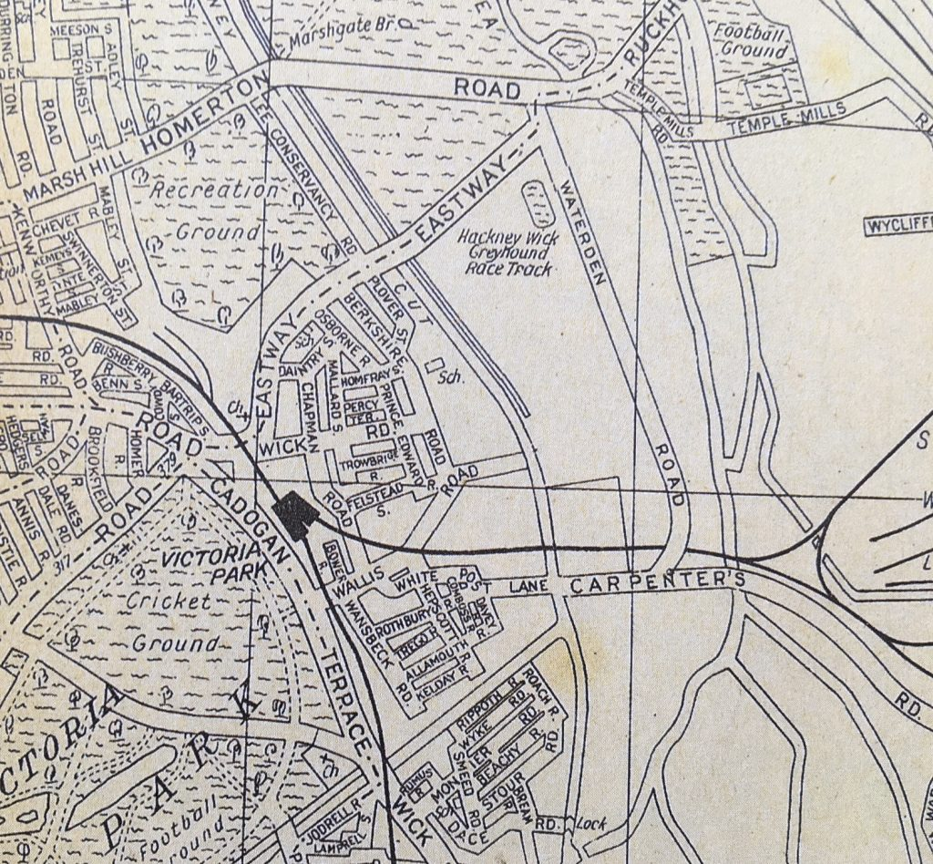 The Olympic Park area in 1939