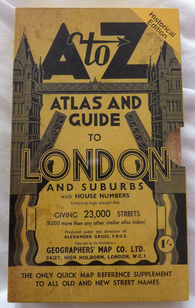Historical Edition A to Z London Street Atlas