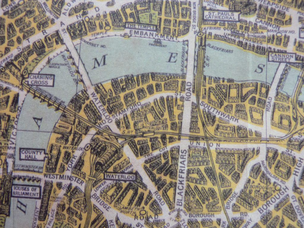 Az Street Map Of London.London A Z Street Atlas Historical Edition 1939 Replica Book Review