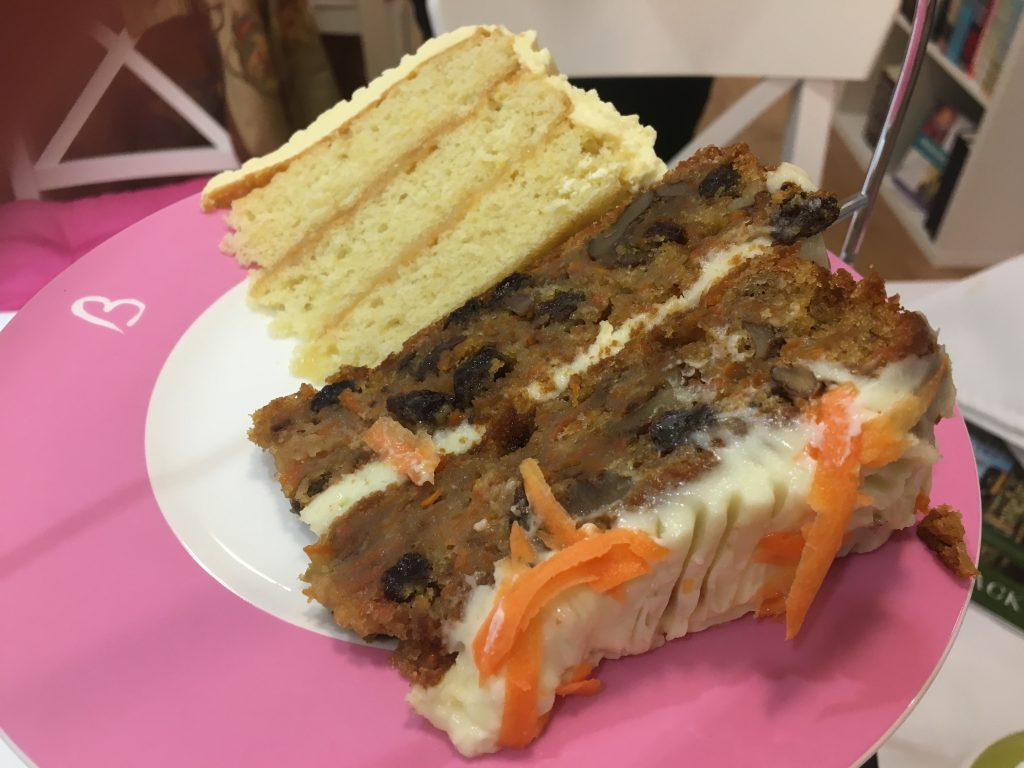 Beatons Petersfield Afternoon Tea - carrot cake