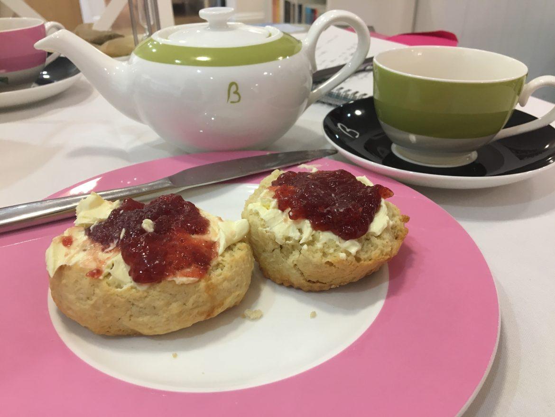 Beatons Petersfield Afternoon Tea - scones