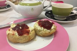 Beatons Petersfield Afternoon Tea - scones