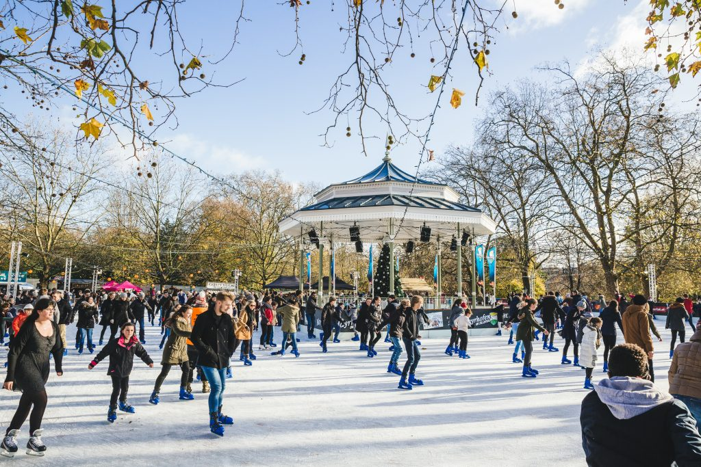 Ice Rink - Hyde Park Winter Wonderland 2017