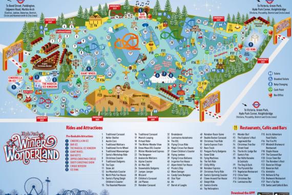 Winter Wonderland 2017 map