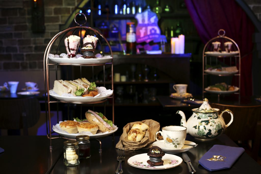 Cutter & Squidge Potion Room afternoon tea