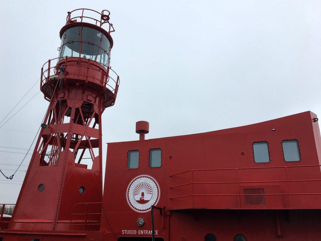 Trinity Buoy Wharf - lightship