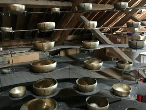 Trinity Buoy Wharf - Longplayer singing bowls