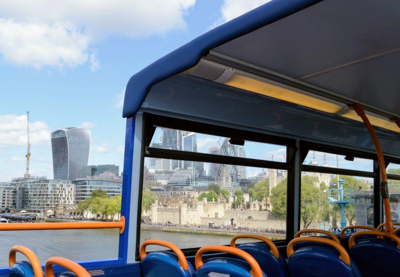 Megabus London sightseeing bus tour