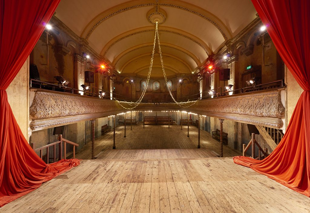 Wilton's Music Hall. Copyright: Peter Dazeley