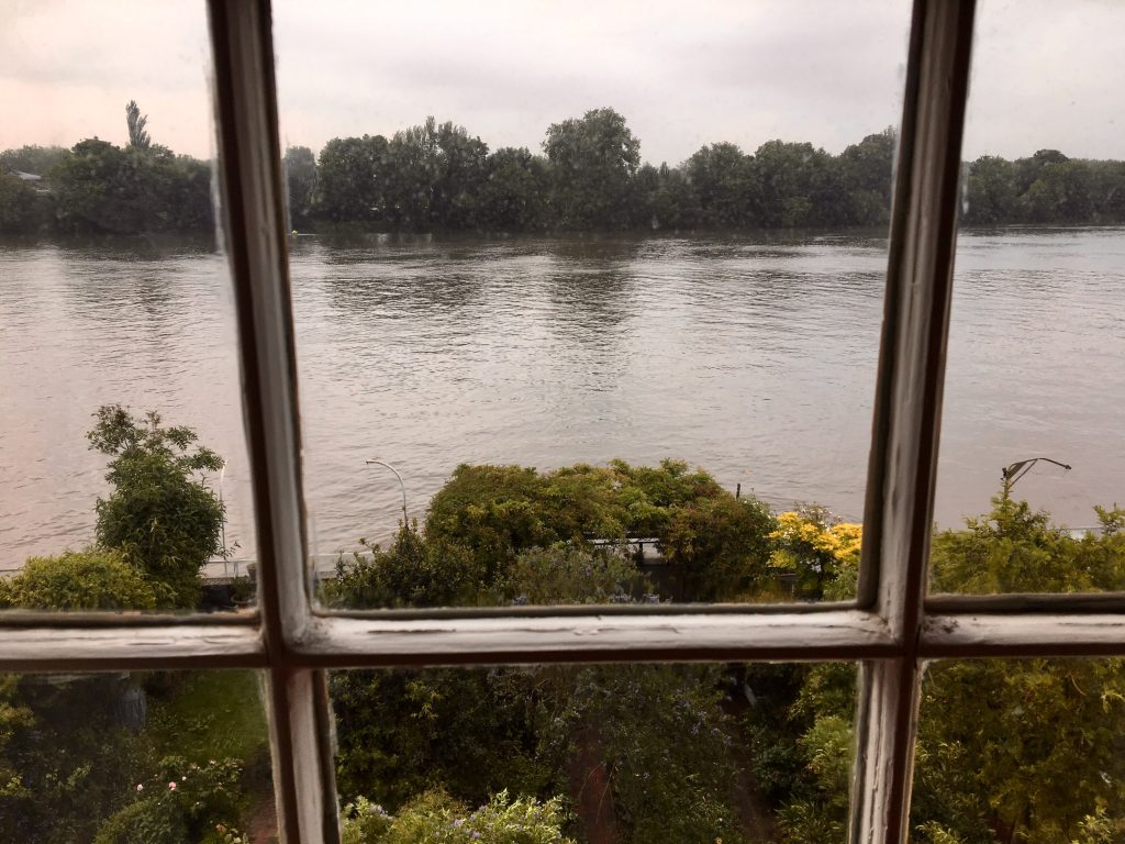 View from the front drawing room window, Emery Walker's House