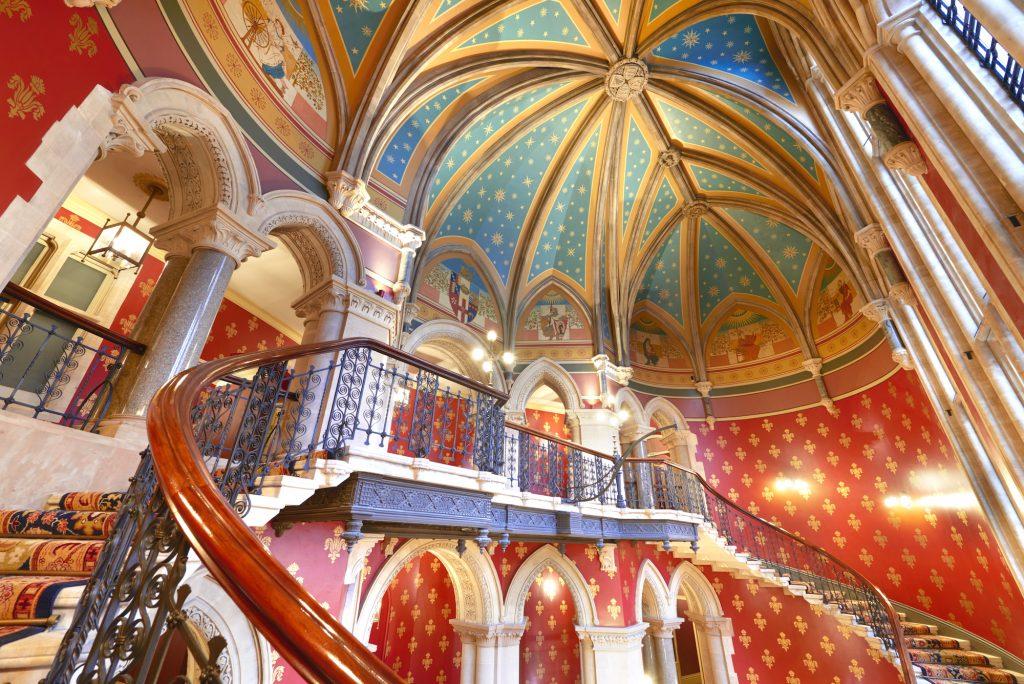 St Pancras Renaissance Hotel. Copyright Peter Dazeley