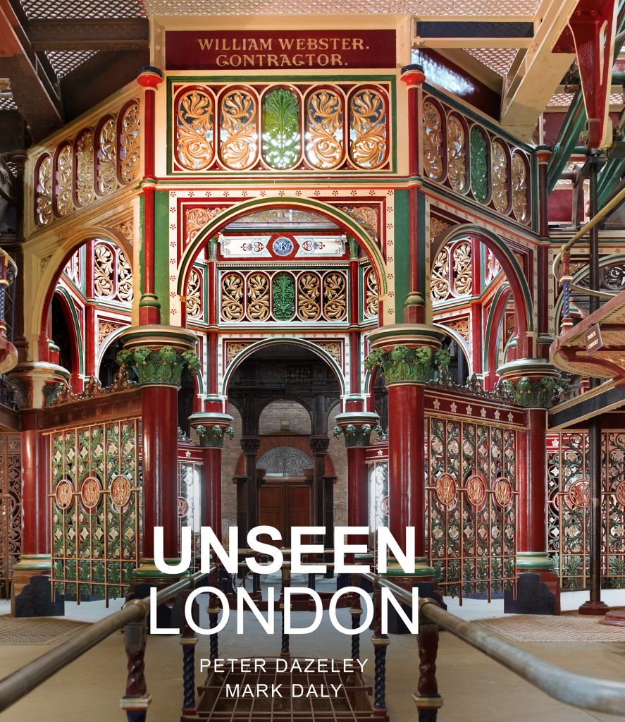 Unseen London by Peter Dazeley - book front cover