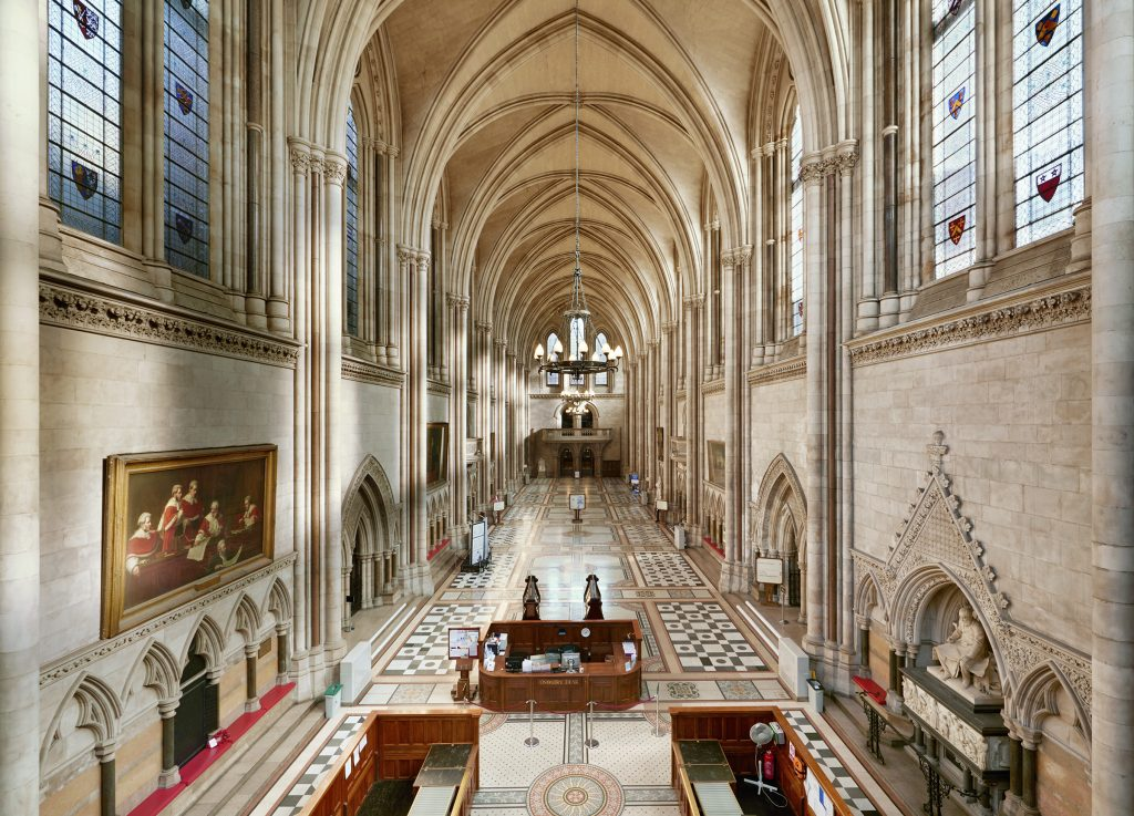 Great Hall, Royal Courts of Justice.