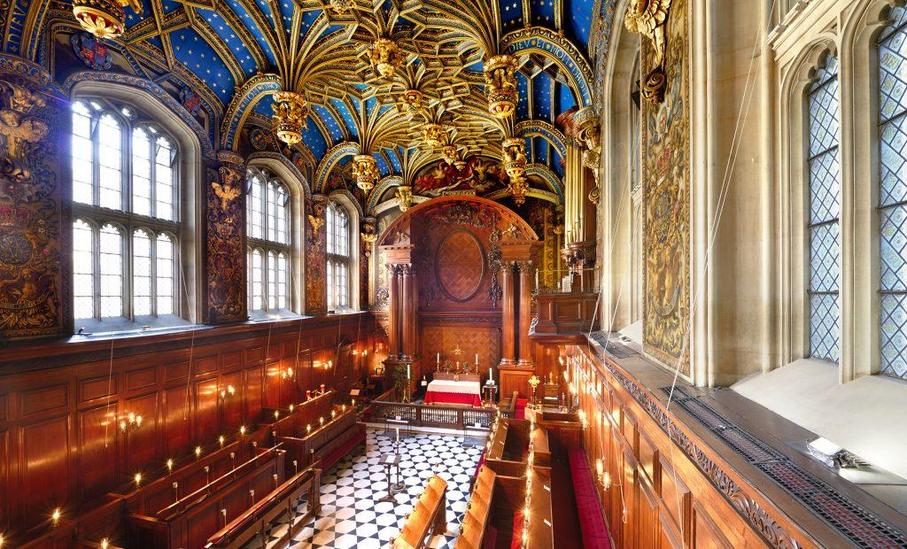 The Chapel Royal, Hampton Court Palace.