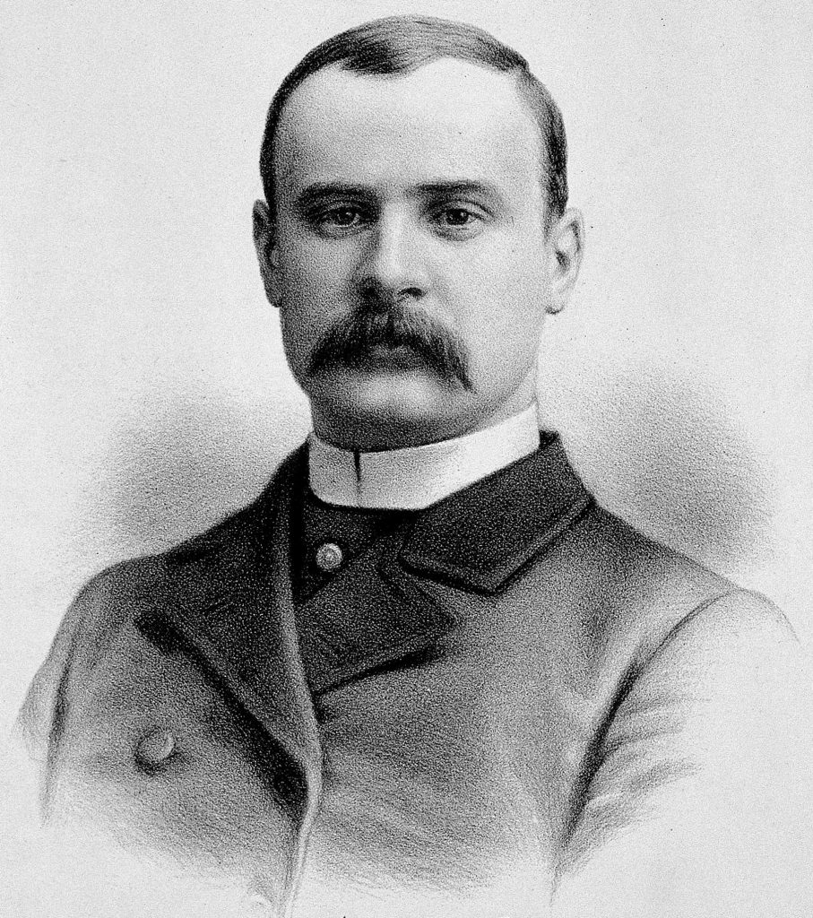Sir Frederick Treves in 1884