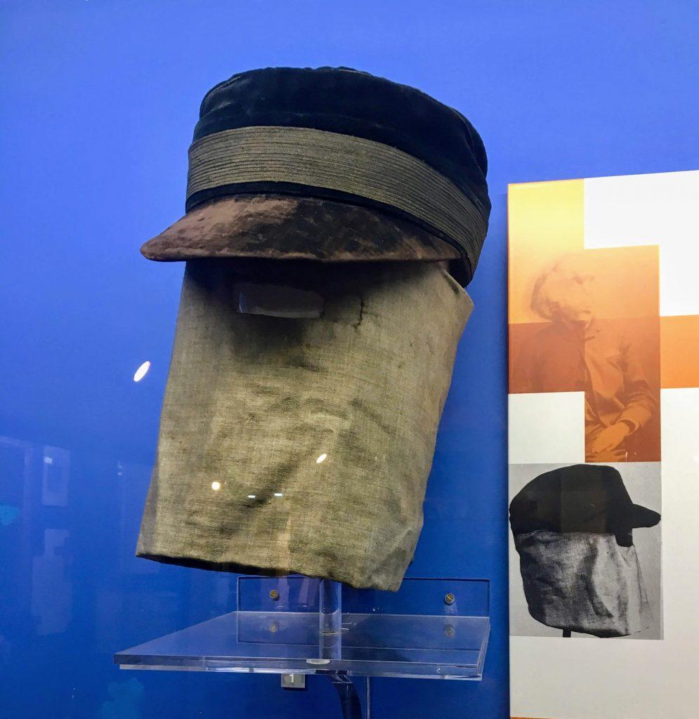 Joseph Merrick's hat and veil c. 1884