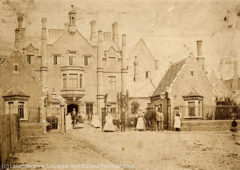 Leicester Union Workhouse c.1880