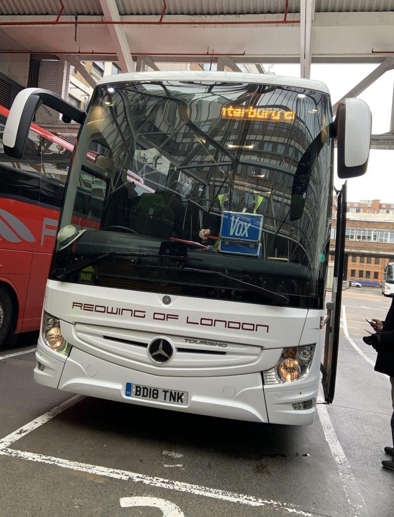 Evan Evans bus