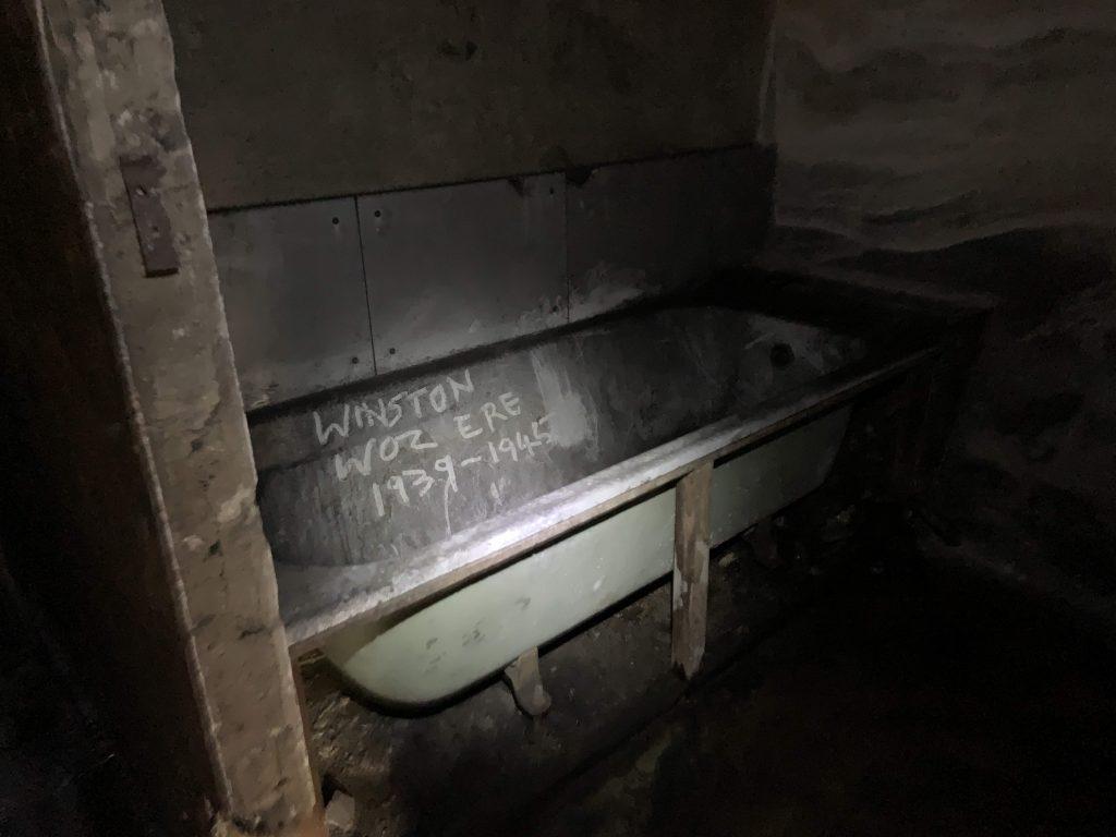 Down Street Hidden London tour - bathroom