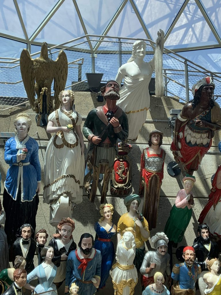 Cutty Sark ship figureheads