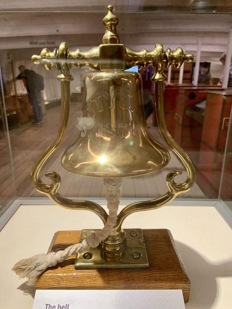 Cutty Sark ship's bell