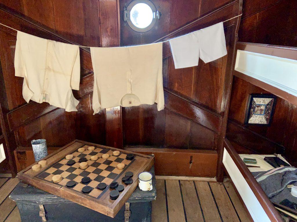 Cutty Sark cabin