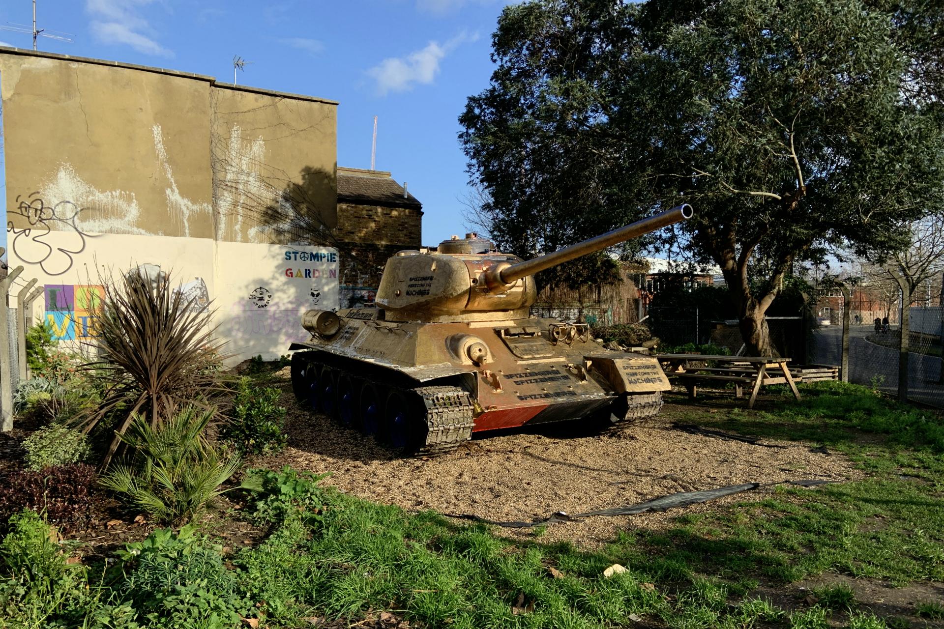 Stompie the Tank